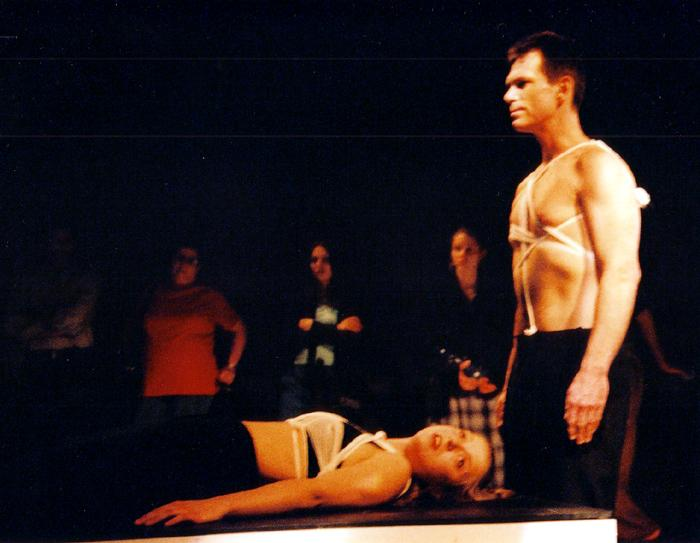 Acting in CRAVE by Sarah Kane, Toronto 2002